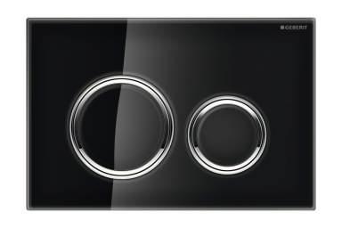 Geberit Sigma21 schwarz Glass